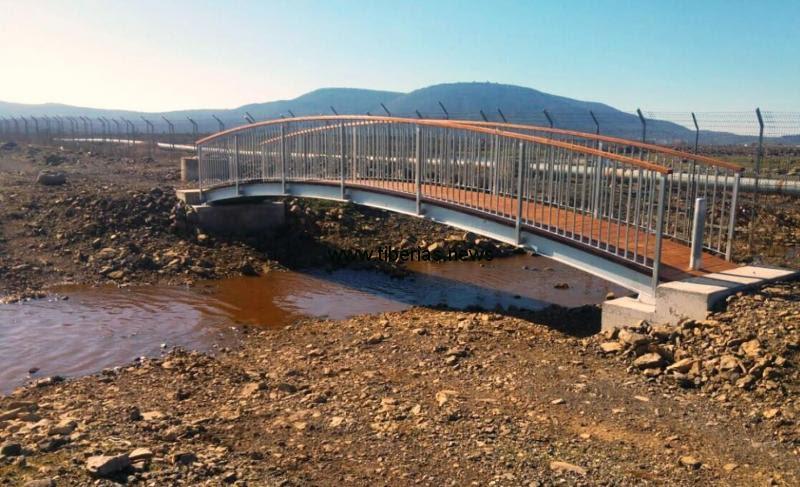 גשר, תצפית ושביל אופניים והליכה חדשים בין דלתון לגוש חלב