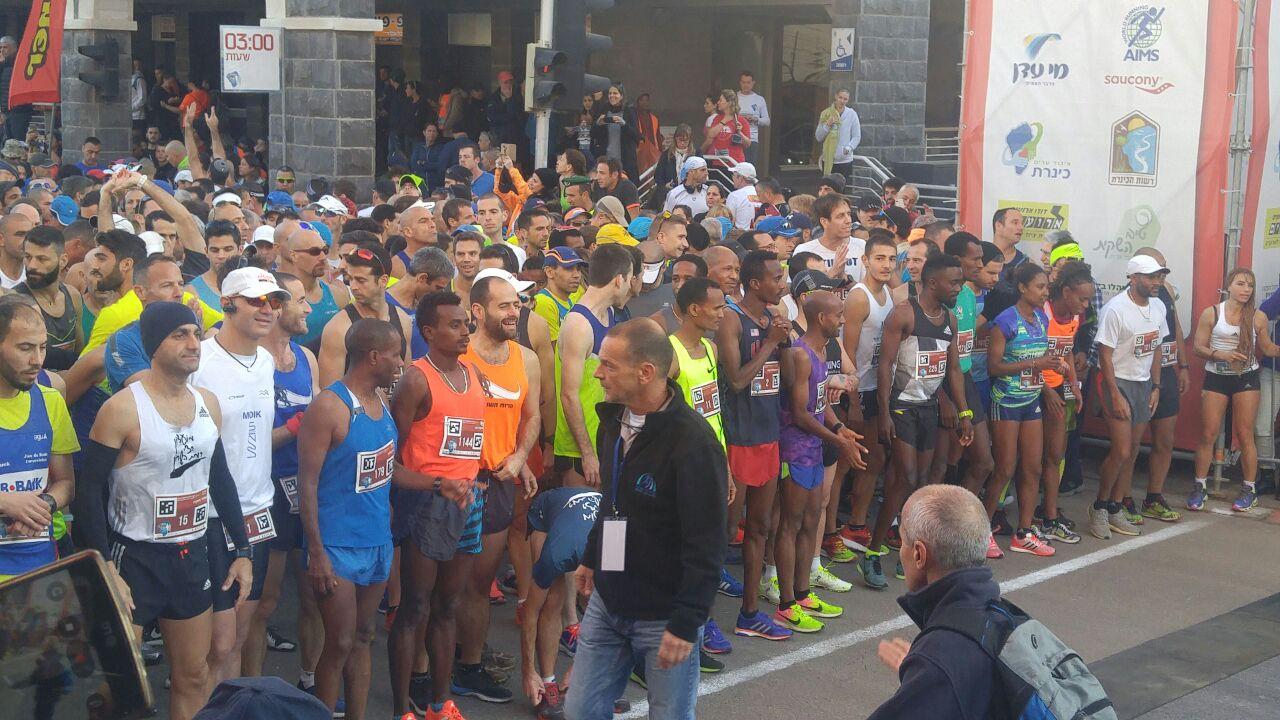 מרתון Winner טבריה ה- 40