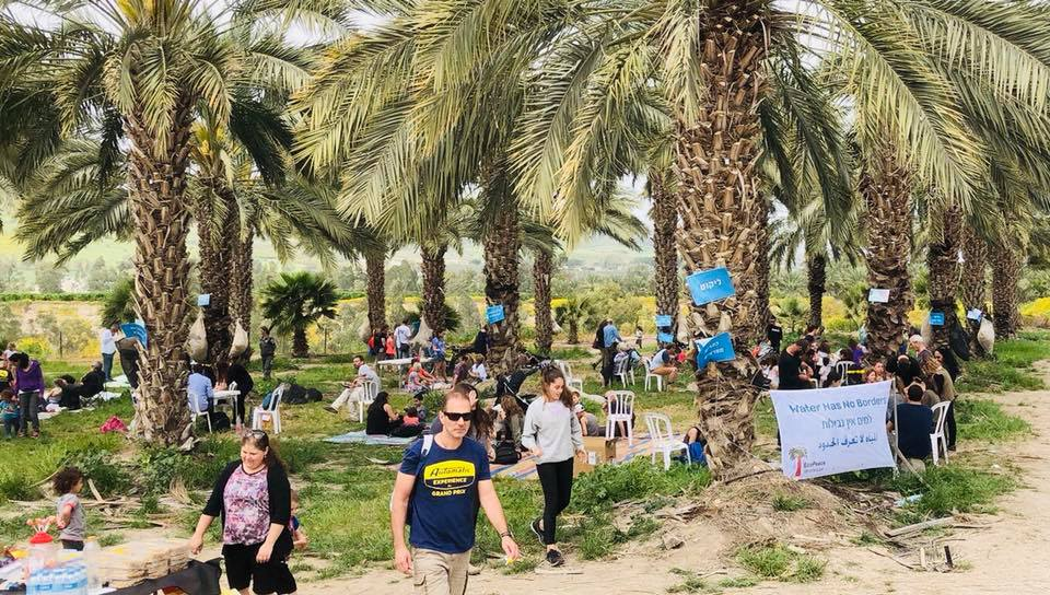 'זורמים לירדן' צעדה והפנינג קהילתי למען שיקום מורד הירדן