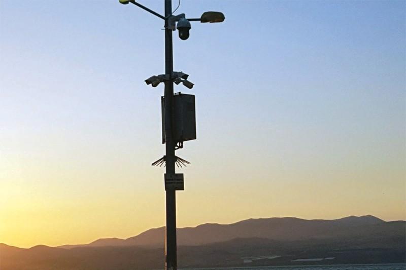 79 מצלמות אבטחה הוצבו בחופי הכינרת